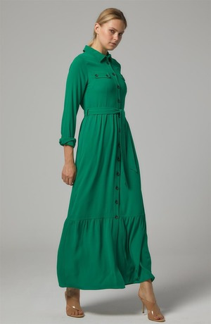 Dress-A.green DO-B20-63009-30