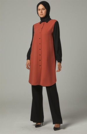 Tunic-Coral DO-A9-61003-37