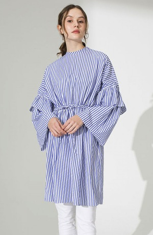 Modest Catwalk coupon: Striped Modest Tunic
