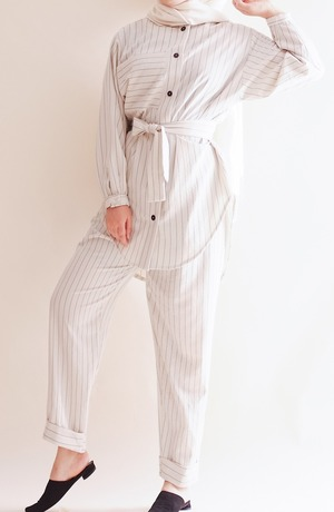 Modest Catwalk coupon: Nifty Lined Modest Suit